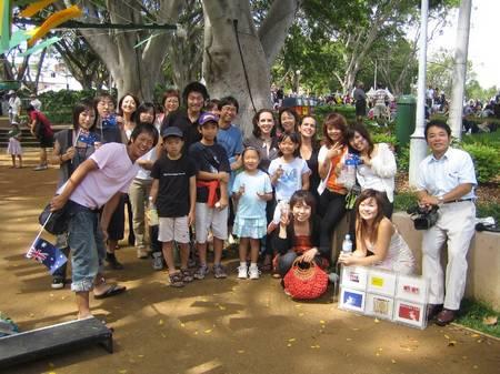 Low Res - Australia Day, Nagoya Garden, Hyde Park Sydney 2006