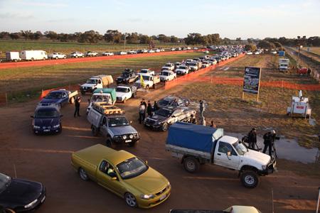 Ute Traffic Jam
