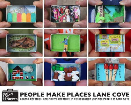Match Box Projects: People Make Places - Lane Cove